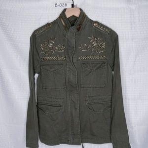 FOREVER 21 - MILITARY JACKET - GREEN - SMALL